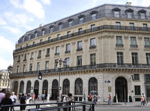 Paris, historische Gebäude Augustes 15,2013 Lizenzfreie Stockfotografie