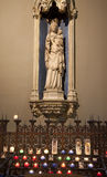 Paris - holy Mary from gothic church Stock Images