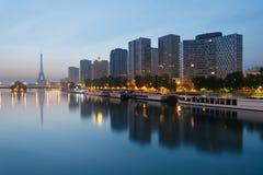 Paris horisont Arkivbild