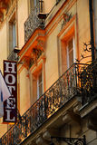 Paris hotel Stock Photo