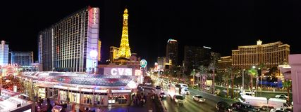 Paris Hotel and Casino, Bellagio Hotel and Casino, metropolitan area, city, cityscape, urban area. Paris Hotel and Casino, Bellagio Hotel and Casino is stock photography
