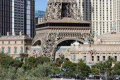 Paris Hotel and Casino, Bellagio, metropolitan area, landmark, city, urban area. Paris Hotel and Casino, Bellagio is metropolitan area, urban area and building stock photo