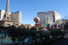 Paris Hotel and Casino, Bellagio, Paris Las Vegas, metropolitan area, landmark, city, skyline. Paris Hotel and Casino, Bellagio, Paris Las Vegas is metropolitan royalty free stock photos