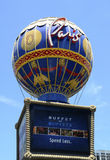 Paris Hotel and Casino in Las Vegas Royalty Free Stock Photos