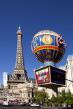 Paris Hotel and Casino in Las Vegas, Nevada Stock Image