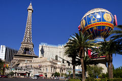 Paris Hotel and Casino in Las Vegas, Nevada Stock Photos