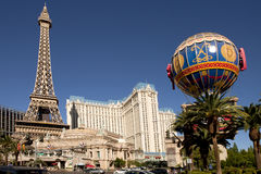 Paris Hotel and Casino in Las Vegas, Nevada Royalty Free Stock Photo