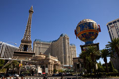 Paris Hotel and Casino in Las vegas Nevada Stock Image