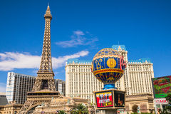 Paris Hotel and Casino Stock Photos