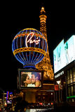 Paris  Hotel and Casino in Las Vegas, USA. Stock Image