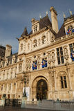 Paris: Hotel de Ville Stock Photography