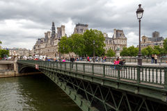 Paris. Hotel-de-Ville (City Hall). Royalty Free Stock Photos