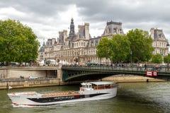 Paris. Hotel-de-Ville (City Hall). Stock Photo