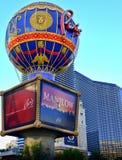 Paris-Hotel-Heißluft-Ballon stockfotos
