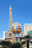 Paris Hotel in Las Vegas Royalty Free Stock Photo