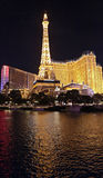 Paris Hotel Las Vegas Stock Photography