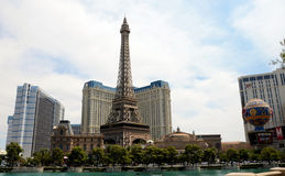 Paris Hotel Las Vegas Royalty Free Stock Photography