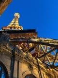 Paris-Hotel in Las Vegas Nanovolt Stockfoto