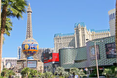 Paris Hotel in Las Vegas Stock Photos