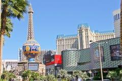 Paris Hotel in Las Vegas Stock Photos