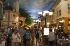 Paris Hotel Promenade in Las Vegas, NV on June 26, 2013 Stock Image