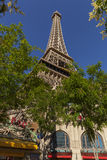 The Paris Hotel Tower Base in Las Vegas, NV on May 20, 2013 Stock Photo