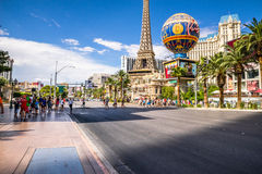 Paris-Hotel und Kasino Stockfotografie