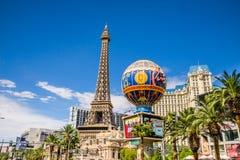 Paris-Hotel und Kasino Stockbilder