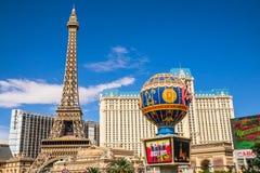 Paris-Hotel und Kasino Stockfotos