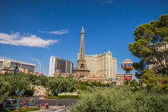 Paris-Hotel und Kasino Lizenzfreies Stockbild