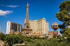 Paris-Hotel und Kasino Lizenzfreie Stockfotografie