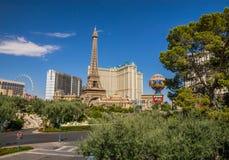 Paris-Hotel und Kasino Stockbild