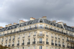 Paris house Royalty Free Stock Images