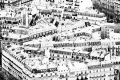 Paris hus Royaltyfri Fotografi