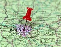 Paris i Frankrike Arkivbilder