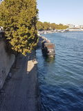 Paris. I love you Paris with sun Royalty Free Stock Image