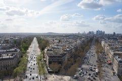 Paris i nedgång Royaltyfri Foto