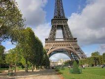 Paris i Oktober Arkivfoton