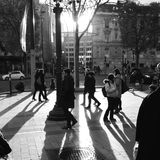 Paris an ihm ist, Fall in Liebe mit der Stadt am besten Stockfotos