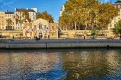 Paris / Ile de France / France / Novembre 2018 : Tourists Gather royalty free stock photography