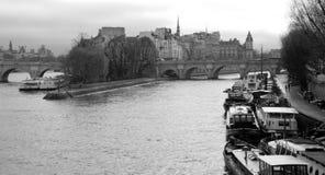Paris, ile de la cité Stock Images