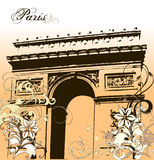 Paris illustration Royalty Free Stock Image