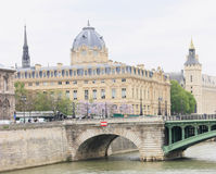 Paris im Frühjahr Lizenzfreie Stockfotos