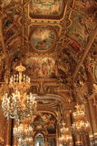 Paris: Interior of Opera Garnier Royalty Free Stock Photos