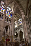 Paris - interior of Saint Denis Royalty Free Stock Photos