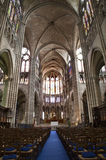 Paris - interior of Saint Denis cathedral Royalty Free Stock Images