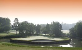 Paris international golf club, Stock Photos