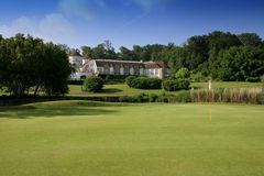 Paris international golf club, Royalty Free Stock Image