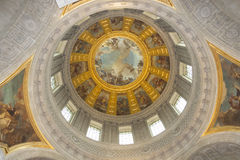 Paris Invalid Church interior royalty free stock images