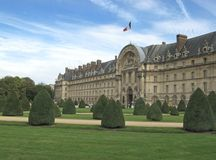 Paris - the Invalides Royalty Free Stock Image